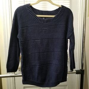 Gap Navy Crew Neck Sweater